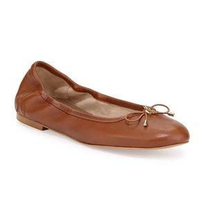 Sam Edelman Felicia Flats in Solid Brown Size 9.5